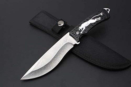 FARDEER Knife Cuchillo de Caza de Hoja Fija para Acampar y Hacer Camin