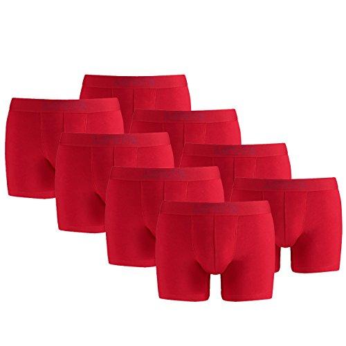 Levis Herren 200SF Boxer Brief 4er Pack, Größe:XL;Farbe:Red (072)