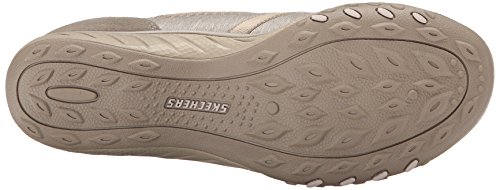 Skechers Breathe-Easy Good Life, Baskets Basses Femme Taupe