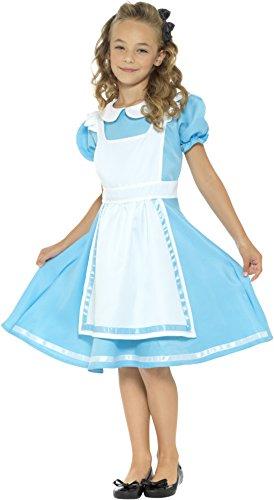 SMIFFYS Smiffy's - 45962S, Costume da Alice nel Paese delle Meraviglie, taglia S