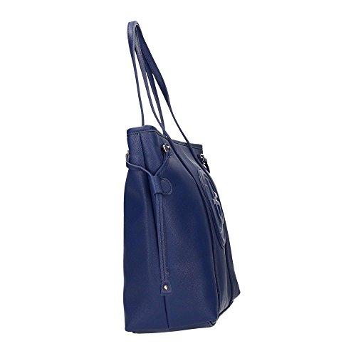 SAF Blu bag Blu Shopping 675P62 ROUND Byblos Donna Blu Byblos FIn1zqUq7