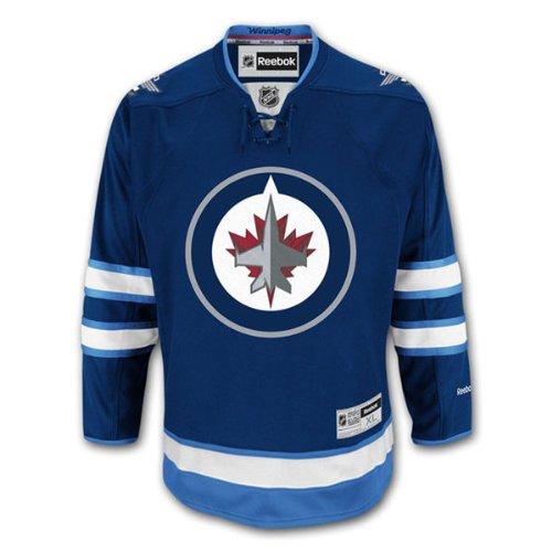 Reebok Winnipeg Jets Premier Eishockey NHL Trikot Home (L)