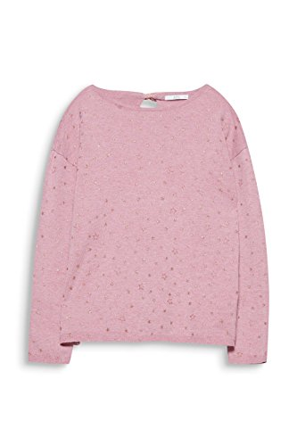 edc by ESPRIT Damen Pullover Rosa (Pink 670)
