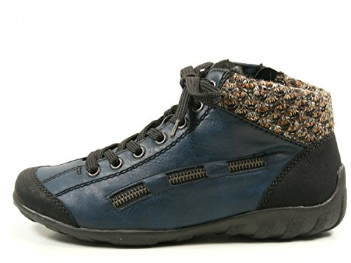 Rieker 25063 Sandalo Da Uomo Blu