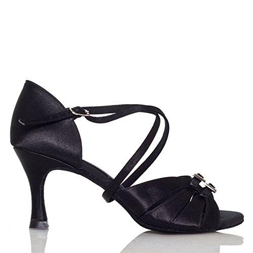 Miyoopark - Ballroom donna Black-7.5cm heel