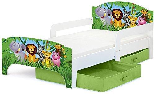 Cama para niños, con colchón 140/70 cm y...
