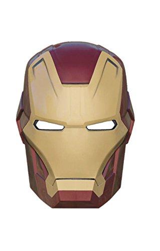 c Maske (Iron Man Kostüme Männer)