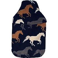 Vagabond Bags Ltd Pferde 2Liter Wärmflasche und Bezug preisvergleich bei billige-tabletten.eu