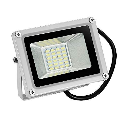 12V Foco LED, 20W 1600LM Blanco Frío 6000K Reflector