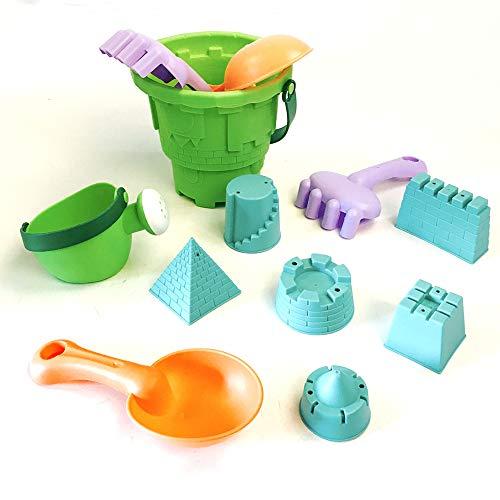 Weichem kunststoff strand spielzeug kinder sommer strand spielen große ausbaggerung sand sand schaufel tool set 10 sätze (Schaufel E-tool)