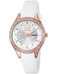 Calypso K5660/1 - Reloj de pulsera Mujer, Plástico, color Plateado