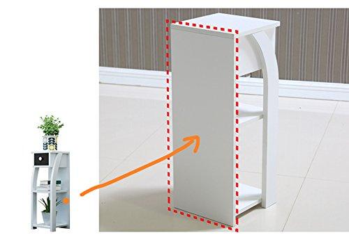 Zwd stand per piante da interno con cassetto mensola a più strati