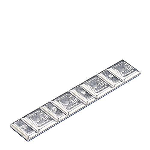 Peso equilibrado llantas acero Hofmann Power Weight 5660-0200-001 Tipo660 argento 20g 100x Contrapesos equilibrado tira