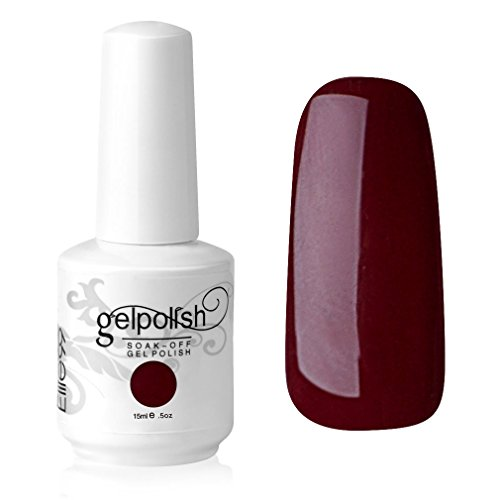 Elite99 Vernis A Ongles Gel UV Soak Off Base Top Nail Art Semi-Permanent Manucure 15ml 1418