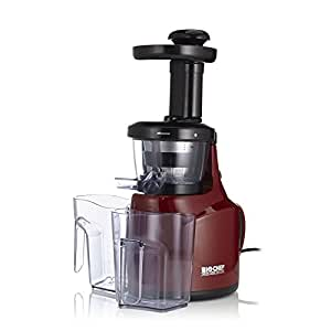 BioChef Slow Juicer, Red