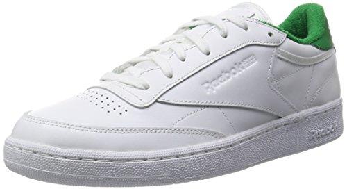 Reebok Homens Clube C 85 Sapatos De Ténis El Branco