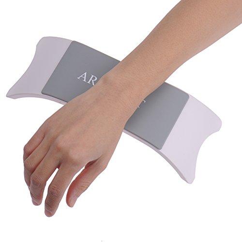confortable en plastique Coque en silicone Nail Art Coussin Oreiller Salon Main support à ongles Accoudoir Manucure Accessoires Outil