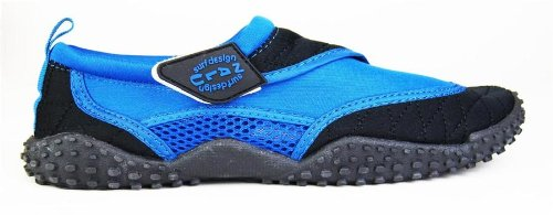 nalu-velcro-aqua-surf-beach-wetsuit-shoes-uk-10-eu-44-blue-with-black-trim