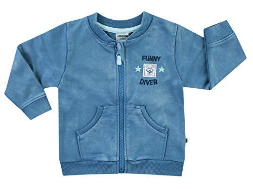 Jacky Sweatjacke für Jungen, Für Babys und Kleinkinder, Größe: 56, Alter: 1-2 Monate, Funny Diver, Kobalt (Blau), 2919380 -