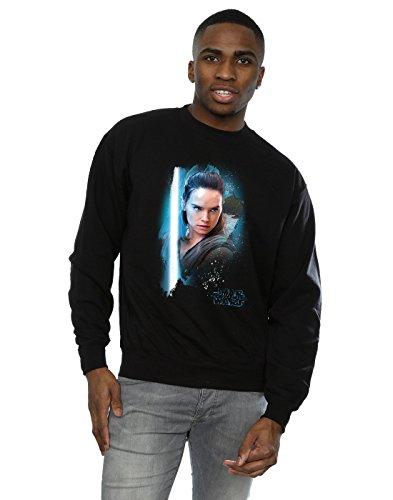 Star Wars Herren The Last Jedi Rey Brushed Sweatshirt