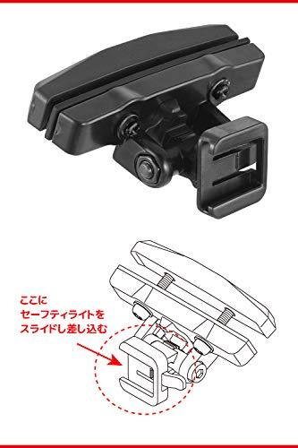 CatEye-RM-1Soporte de sillín Trasero 544-6510Ciclismo Luces y reflectores-Negro