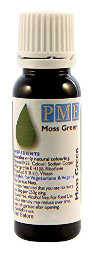 Colorant Alimentaire- 100% Naturel - Vert / 100% Natural Food Colouring: Moss Green