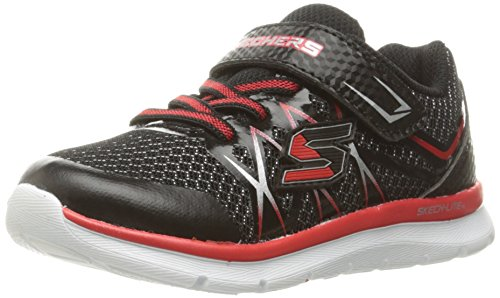 Skechers Boys Skech-Lite - Fast Stepz Low-Top Sneakers Low-Top Sneakers, Black (bkrd),...