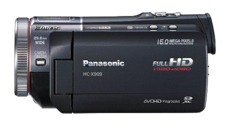 Panasonic HC-X909EG-K Full-HD Camcorder (8,8 cm (3,4 Zoll) Display, 12-fach opt. Zoom, 3MOS System Pro, Leica Objektiv, 29,8mm Weitwinkel, 3D-Option) schwarz - 2