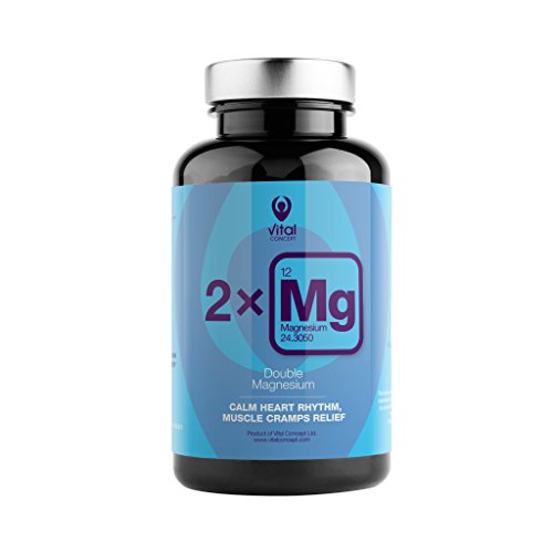 DOUBLE MAGNESIUM - Doppia fonte, citrato di magnesio e carbonato di magnesio. pillole Dose giornaliera forniscono 250 mg di magnesio qualità eccellente. Ritmo cardiaco calma, sollievo per i muscoli. 90 Veggie pillola capsule, non contengono glutine e OGM.