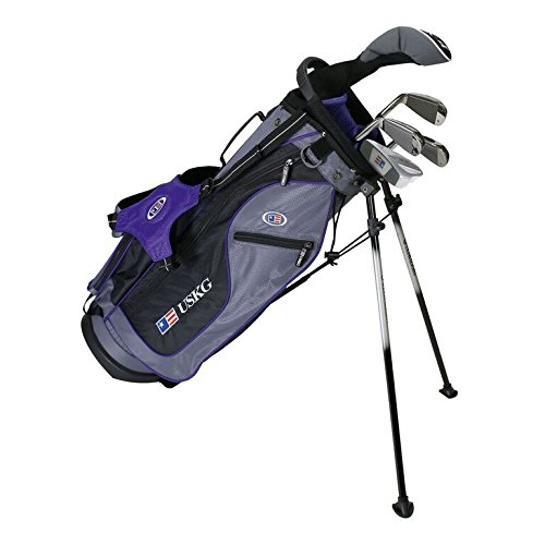 us-kids-golf-ultralight-set-54-133-cm-141-cm-age-eta-8-10-years-golf-club-for-kids-golf-racchetta-pe