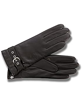 Glamouröser Damen Lederhandschuh von Roeckl in schwarz