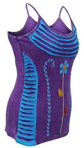 SHOPOHOLIC FASHION Damen Top * Violett