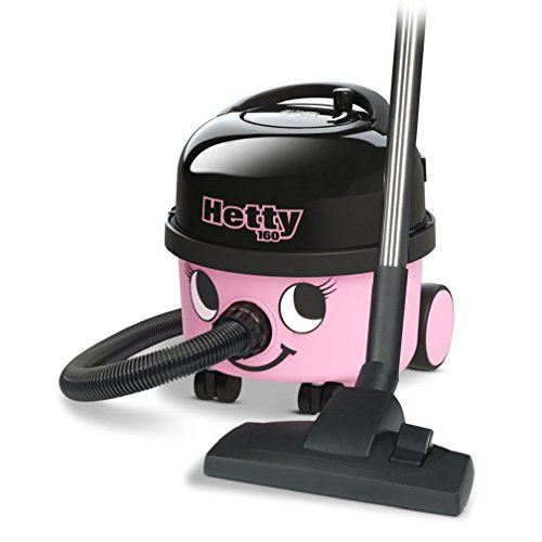 Numatic HET.160-11 Hetty Compact Vacuum Cleaner, 620 W – Pink/Black