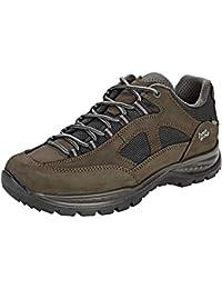 Hanwag Gritstone II GTX Shoes Women asphalt/dark garnet 2019 Schuhe grau schwarz Outdoor-Bekleidung Outdoor Bekleidung