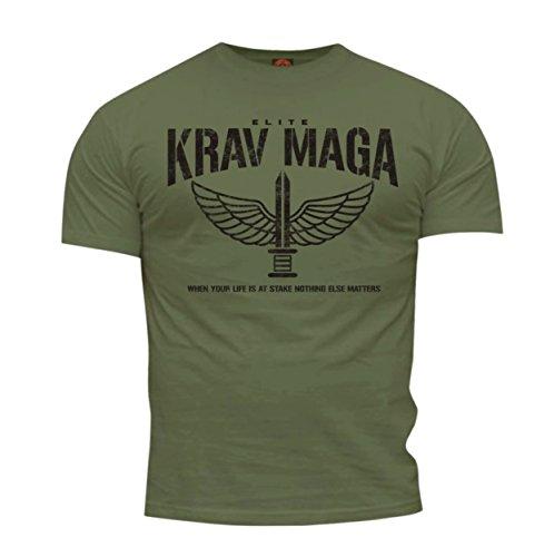 dirty ray arti marziali krav maga elite maglietta t-shirt uomo dt35 (m)