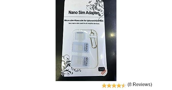 cablepelado/ /Adaptateur de carte NanoSim microSIM et SIM pour t/él/éphone portable