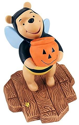 Disney Winnie Puuh Porzellanfigur Trick and Treat