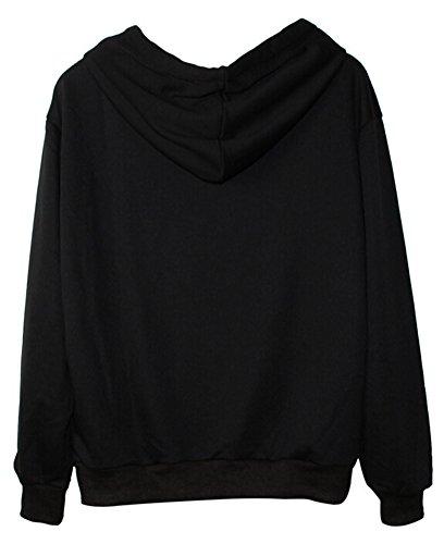SMITHROAD Damen / Herren Hipster Hoodie Kapuzenpullover mit Print Aufdruck Sweatshirt mit Kapuze 21 Muster Muster 21