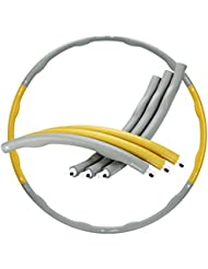Gold Coast Foam Padded Weighted 1.2kg Fitness Exercise Sport Hula Hoop 100cm Wide | Free 2 Year Warranty