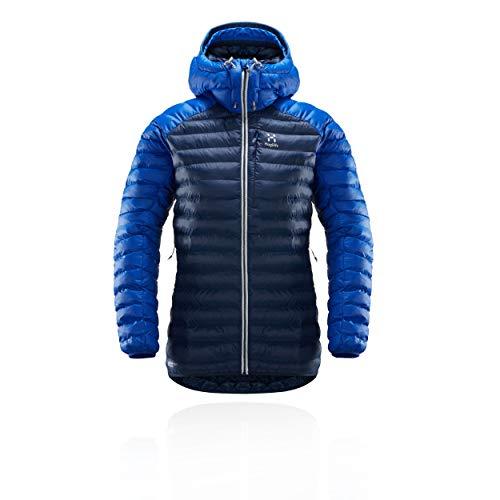 Haglöfs Damen Essens Mimic Hood Jacke, Tarn Cobalt Blue, M
