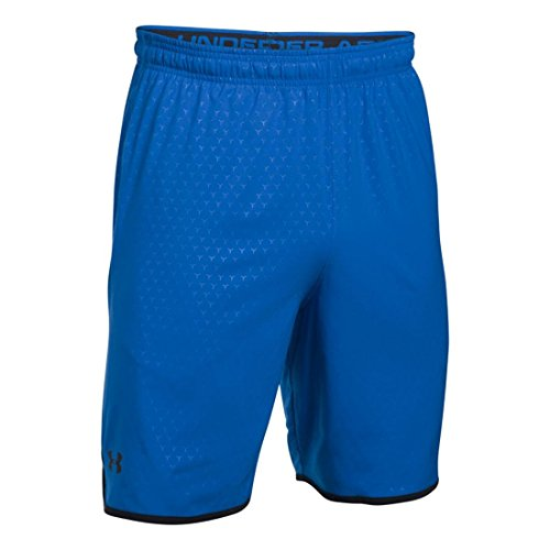 Under Armour Ua Qualifier Novelty Short, Pantaloncini Sportivi Uomo blue marker