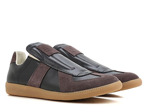zapatillas-de-deporte-zapatos-sin-cordones-de-los-hombres-maison-margiela-en-cuero-negro-numero-de-m