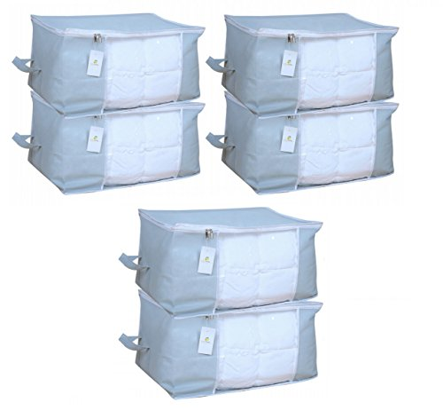 Homestrap Big Underbed Storage Bag/ Storage Organiser – Grey