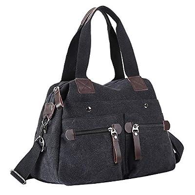 Eshow sac à main et l'épaule tout cabas sac bandouliere sacoche loisirs shoppings ordinateur pour femmes et filles style simple chic pour fille/femme