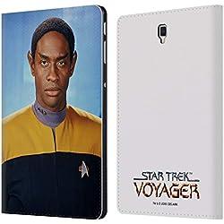 Officiel Star Trek Tuvok Personnages Iconiques VOY Étui Coque De Livre en Cuir pour Samsung Galaxy Tab S4 10.5 (2018)