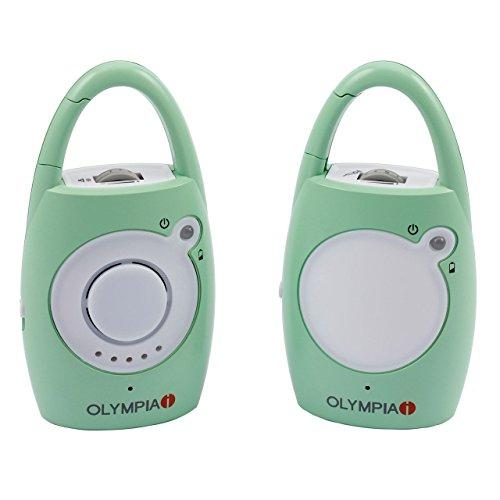 Premium Appareil de surveillance bébé sans fil radio Babyphone Canny, jusqu'à 200 m de portée de Olympia
