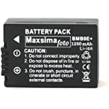 Maxsima–DMW-BMB91200mAh batería para Panasonic Lumix