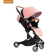 babysing alta paisaje portátil ligero bebé plegable bebé cochecito cochecitos cochecitos ...