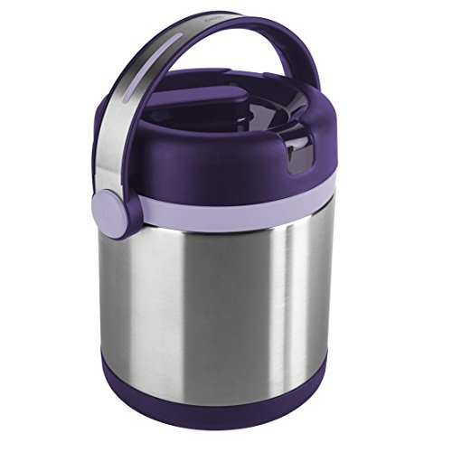 Emsa Mobility Vacuum Food Flask, Violet/Purple, 1. 2 Litre