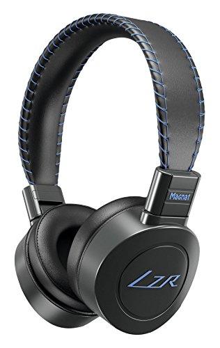 Magnat LZR 568 BT On-Ear-Bluetooth-Headphone   Freisprecheinrichtung   mit integriertem Akku   bis zu 24h Spielzeit - Black vs. Blue